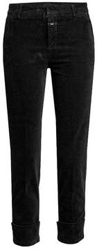 Closed Cuffed Velvet Pants