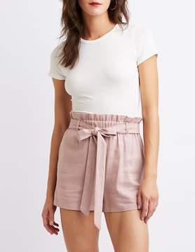 Charlotte Russe High-Waist Shorts
