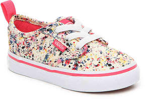 Vans Girls Atwood Splatter Toddler Slip-On Sneaker