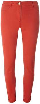 Dorothy Perkins Orange Sateen Chino Trousers