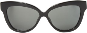 Linda Farrow Luxe Women's 38 Acetate & Snakeskin Cat Eye Frame