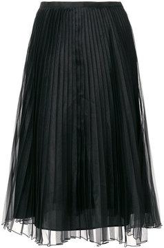 Blugirl pleated layer skirt