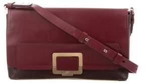 Roger Vivier Bicolor Leather Shoulder Bag
