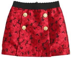 Dolce & Gabbana Floral Brocade Skirt