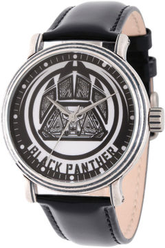 Marvel Avengers Mens Black Strap Watch-Wma000202