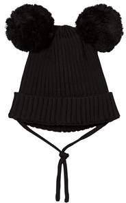 Mini Rodini Black Ear Hat