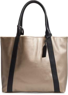 Sole Society Drury Faux Shearling Reversible Tote