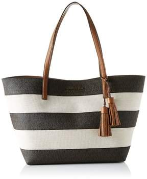 Michael Kors Large Canvas And Leather Tote - Brown - 30H6GUOT7C-200 - BROWN - STYLE