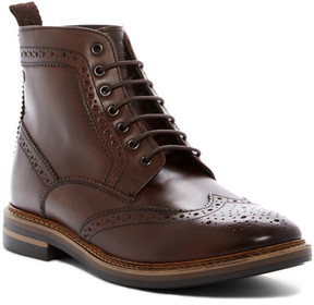 Base London Hurst Wingtip Leather Boot