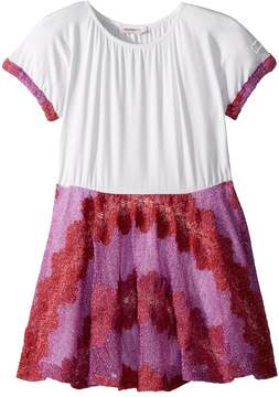 Missoni Kids Lace Lame Rigato Dress Girl's Dress