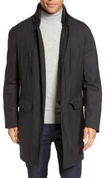 Pal Zileri Men's Caban Coated Jacket