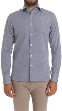 Finamore Ginglese Cotton Shirt