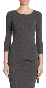 Armani Jeans Ribbed Knit Tunic