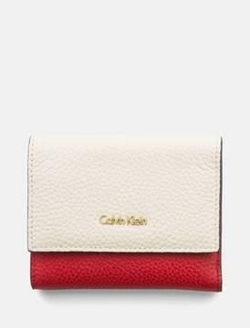 Calvin Klein leather trifold wallet