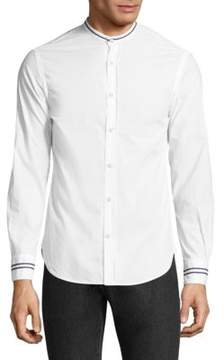 Officine Generale Gaspard Cotton Dress Shirt