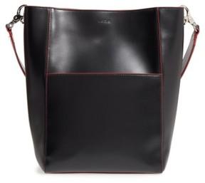 Lodis Berta Leather Bucket Bag - Black