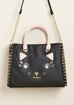 Betsey Johnson The Kitsch Meow Purse