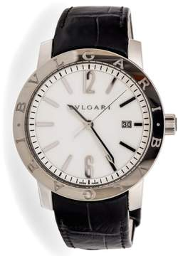 Bulgari 102056 Stainless Steel Automatic 41mm Mens Watch