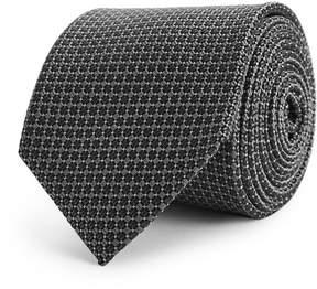 Reiss Claude Geometric Silk Tie