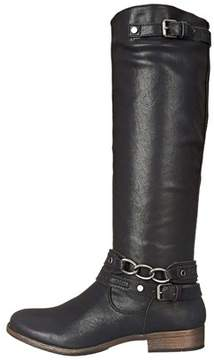 Madeline Womens Buy It Closed Toe Knee High Riding Boots.