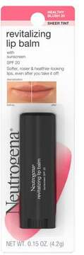 Neutrogena Revitalizing Lip Balm SPF 20