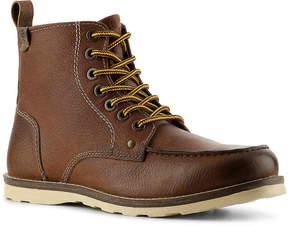 Crevo Men's Buck Moc Toe Boot