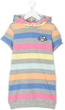 Little Marc Jacobs striped sweatshirt dress