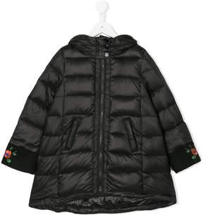 Simonetta floral padded jacket