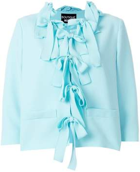 Moschino Cady bow jacket