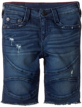True Religion Geno French Terry Moto Shorts Boy's Shorts