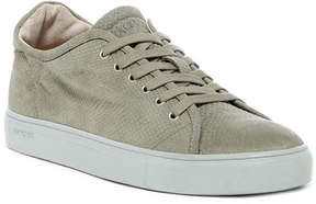 Blackstone Snake Embossed Low Lace-Up Sneaker