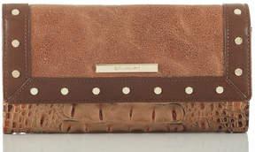Brahmin Soft Checkbook Wallet Silva