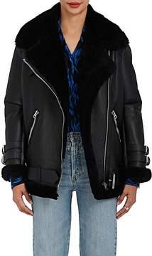 Acne Studios Women's Velocite Leather Oversized Jacket