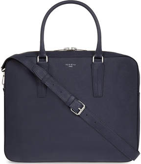 Sandro Downtown leather briefcase