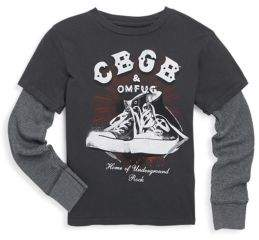 Rowdy Sprout Toddler's, Little Boy's & Boy's CBGB Cotton Tee
