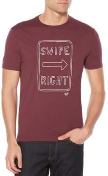 Original Penguin Men's Swipe Right Heritage T-Shirt