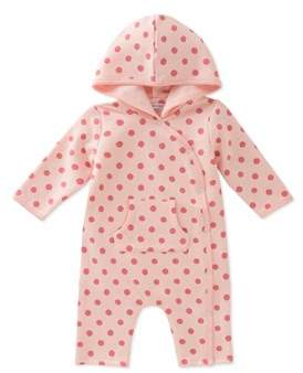 Absorba Girls' Hooded Coverall.
