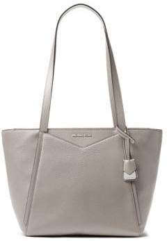 MICHAEL Michael Kors Whitney Small Leather Top Zip Tote
