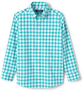 Lands' End Lands'end Boys Poplin Shirt