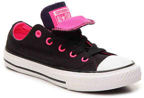 Converse Girls Chuck Taylor All Star Double Tongue Toddler & Youth Sneaker