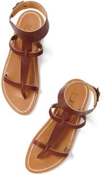 K. Jacques Caravelle Sandal in Marron, Size 35
