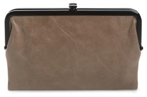 Hobo Women's Glory Leather Wallet - Grey