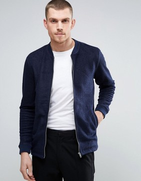 Minimum Wool Blend Formal Bomber Jacket