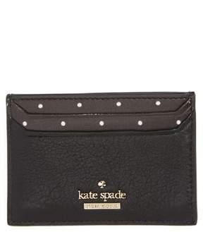 Kate Spade Blake Street - Dot Lynleigh Leather Card Case