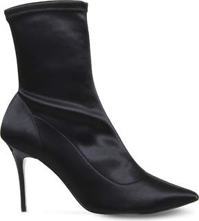 Office Aphrodite stretch satin boots