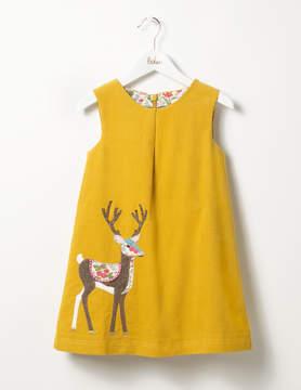 Boden Woodland Animal Cord Dress