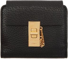 Chloé Black Drew Square Wallet