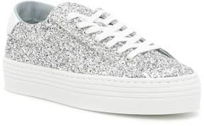 Chiara Ferragni Silver Sneakers