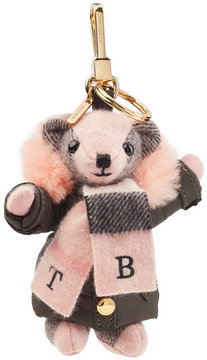 Burberry Cashmere Charm with Shearling - MULTICOLORED - STYLE