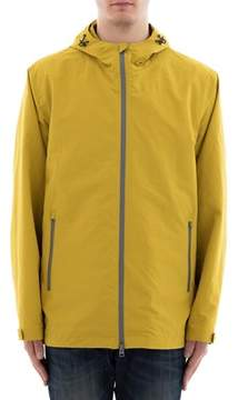 Herno Men's Yellow Polyester Outerwear Jacket.